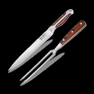 """Carving Set 8"""" Pointing Knife & Fork"""