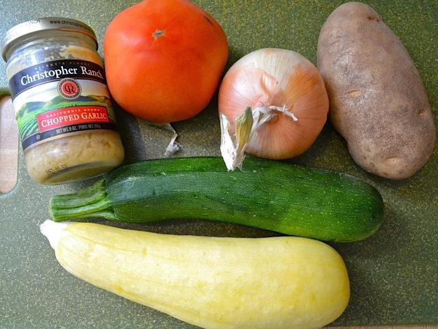 1 whole veggies