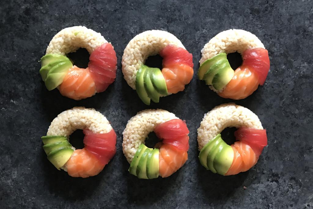 sushi-doughnuts-process-salmon-tuna-avocado